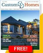 custom homes magazine cedar designs