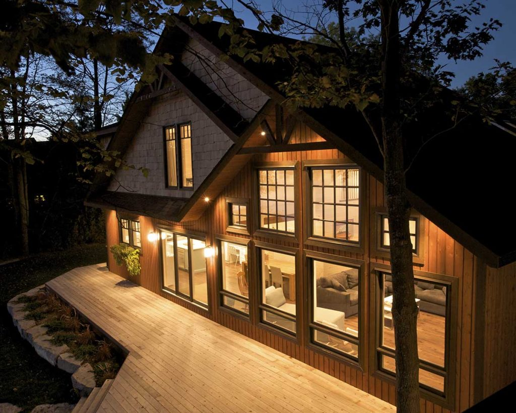 Bryson Bay award winning cedar homes