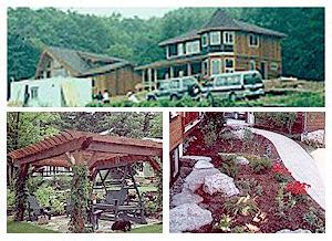 Cedar Homes Landscaping